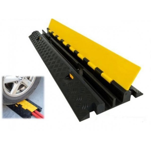 Protector cables protector cables 100x25x5cm neg amar 2 - Cubre piso alfombra ...