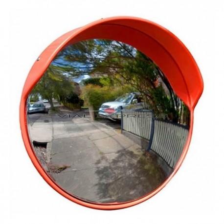 Espejo 100 cms convexo exterior for Espejo esferico convexo