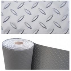 Piso PVC Diamantado Metálico