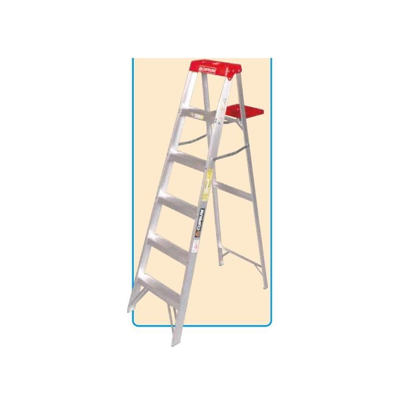 escaleras de tijera aluminio uso domestico solarfilm