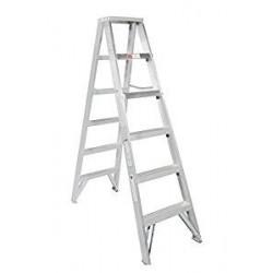 Escalera de Tijera Doble Aluminio de 1,83 Mts 102 Kg Escalera de Tijera Doble Aluminio de 1,83 Mts 102 Kg Escalera de Tijera...