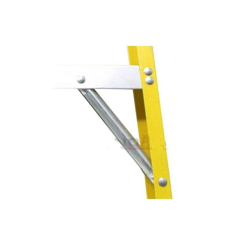 Escalera de tijera de fibra de vidrio metros y 8 for Escaleras 8 metros precio