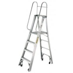 Escalera de Plataforma Tijera Aluminio 570-04 136KGEscalera de Plataforma Tijera Aluminio 570-04 136KG Escalera de Tijera con...