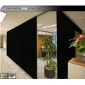 EMPAVONADO NEGRO BLACK OUT FROSTED GLASS