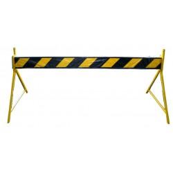 BARRERA DE SEGURIDAD 2.50mtx x 90 cm. negro y amarilloBARRERA DE SEGURIDAD 2.50mtx x 90 cm. negro y amarillo Barreras de Segu...
