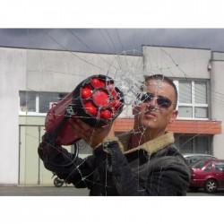 """Lamina de Seguridad Transparente espesor 12 mic con filtro UV protección elevada """"alta"""""""