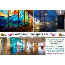 Láminas decorativas con efecto de vitral