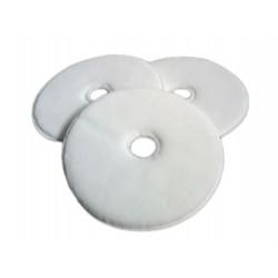 """Pads Micro Fibra Blanco 17"""" Extra Suave"""
