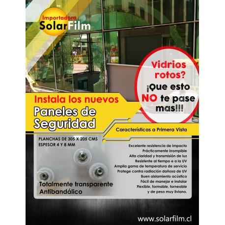 Paneles vidrio plástico transparente antivandalicoPaneles vidrio plástico transparente antivandalico Laminas Seguridad
