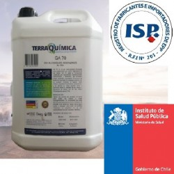Alcohol Gel 70% con Registro ISP 2503C-1/20