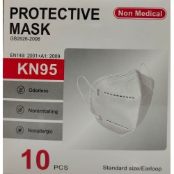 Mascarilla protectora Kn95Mascarilla protectora Kn95 COVID - 19 Coronavirus