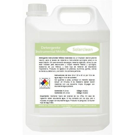 Detergente Instrumental MédicoDetergente Instrumental Médico SOLARCLEAN - CLINICAS