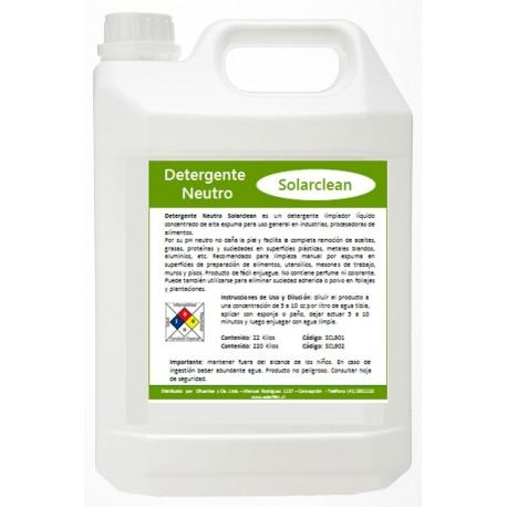 Detergente NeutroDetergente Neutro SOLARCLEAN - AUTOMOVILES