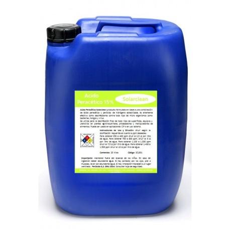 Acido Peracético PAA 15%Acido Peracético PAA 15% SOLARCLEAN - INDUSTRIAL