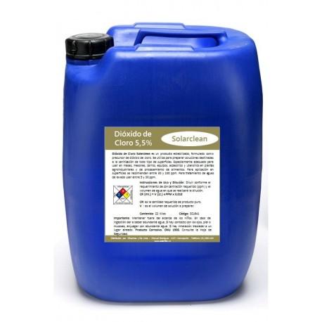 Dióxido de CloroDióxido de Cloro SOLARCLEAN - INDUSTRIAL