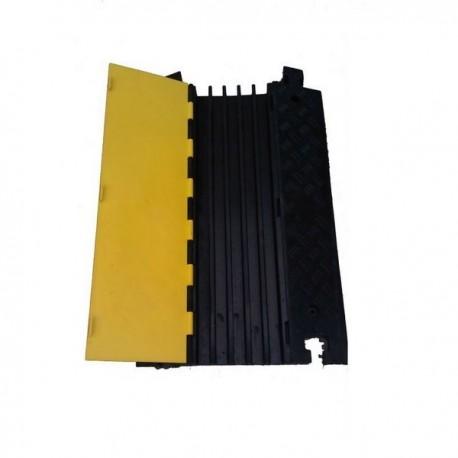 PROT. CABLES 90X60X8CM NEG/AMAR 5 CANAL HEAVY DUTYPROT. CABLES 90X60X8CM NEG/AMAR 5 CANAL HEAVY DUTY Protectores de Cable, Ma...