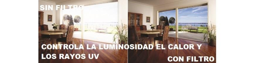 Laminas de Control de Solar Luminosidad y Filtro UV
